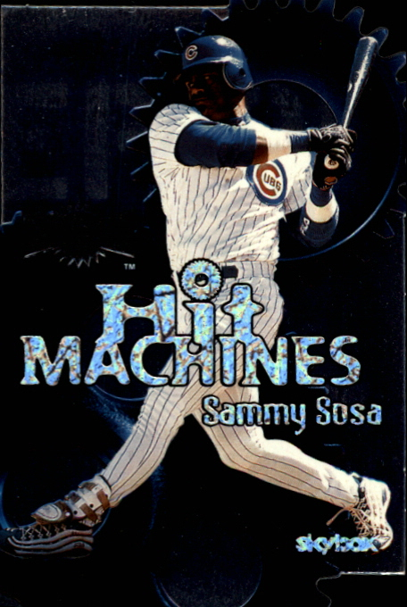 2000 Metal Hit Machines #H8 Sammy Sosa