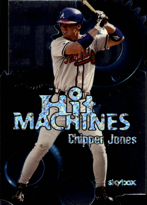 2000 Metal Hit Machines #H10 Chipper Jones