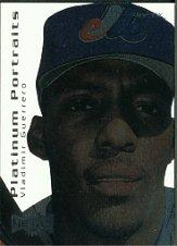 2000 Metal Platinum Portraits #PP2 Vladimir Guerrero