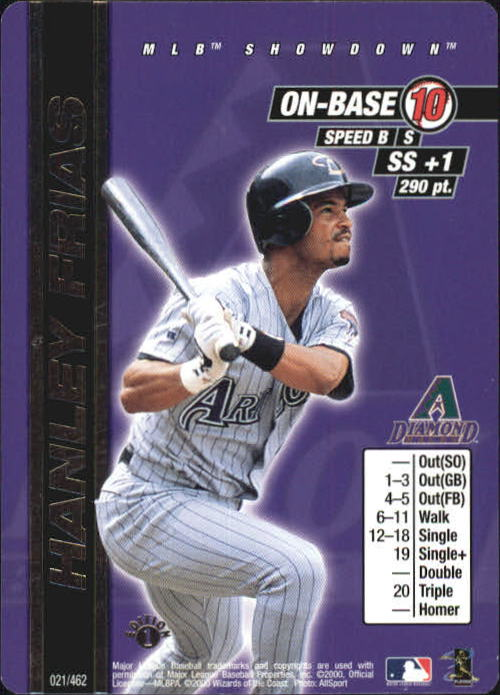 2000 MLB Showdown 1st Edition #21 Hanley Frias