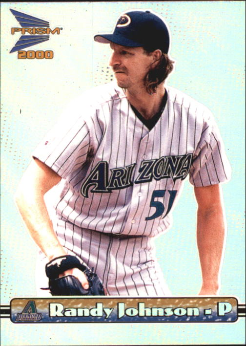 2000 Pacific Prism #8 Randy Johnson