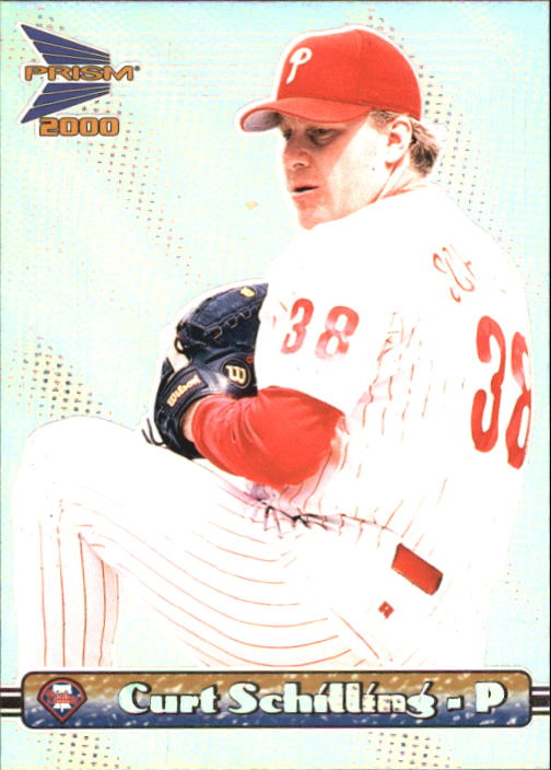 2000 Pacific Prism #113 Curt Schilling