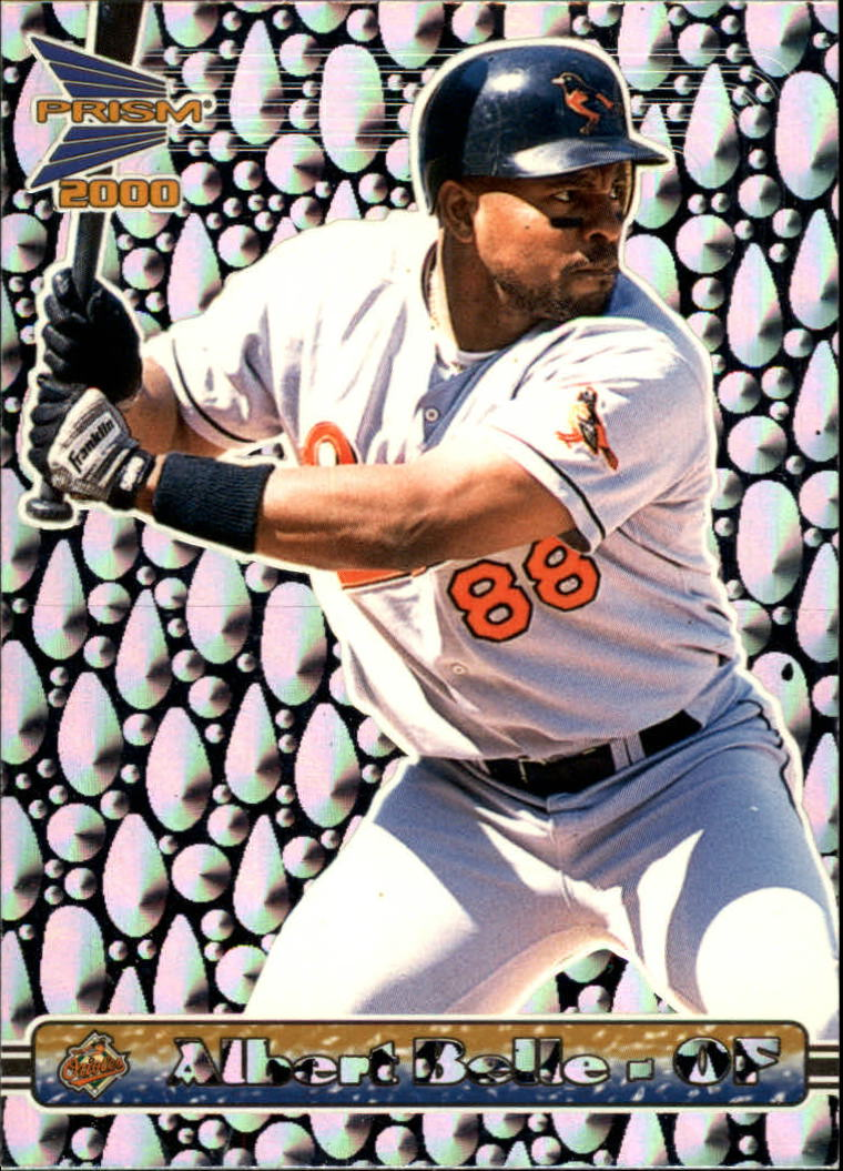 2000 Pacific Prism Drops Silver #17 Albert Belle