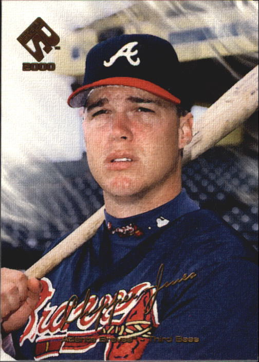 2000 Private Stock #10 Chipper Jones