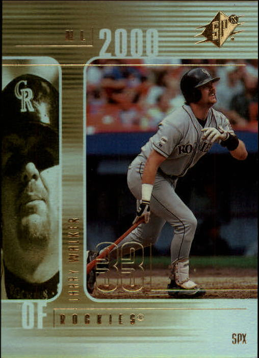 2000 SPx #74 Larry Walker