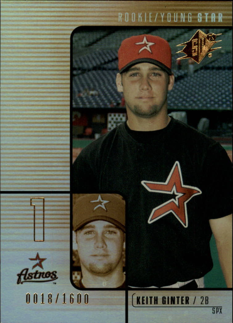 2000 SPx #187 Keith Ginter/1600 RC