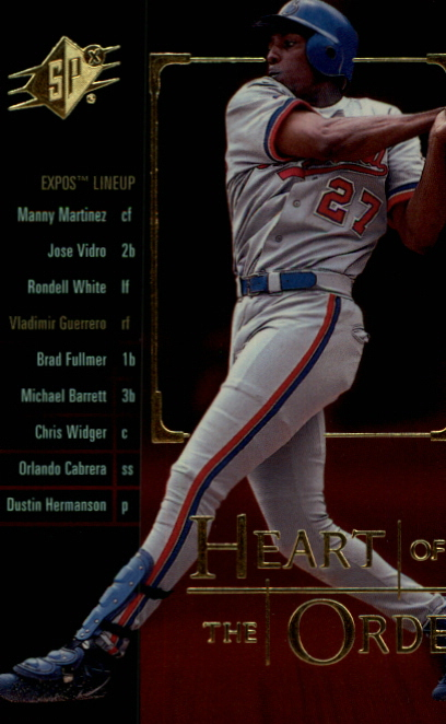2000 SPx Heart of the Order #H20 Vladimir Guerrero
