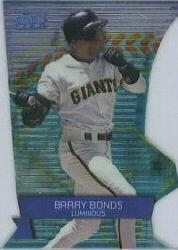 2000 Stadium Club 3 X 3 Luminous #7A Barry Bonds