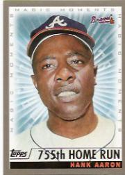 2000 Topps #237E H.Aaron MM 755th HR