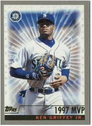 2000 Topps #475B K.Griffey Jr. MM 1997 MVP