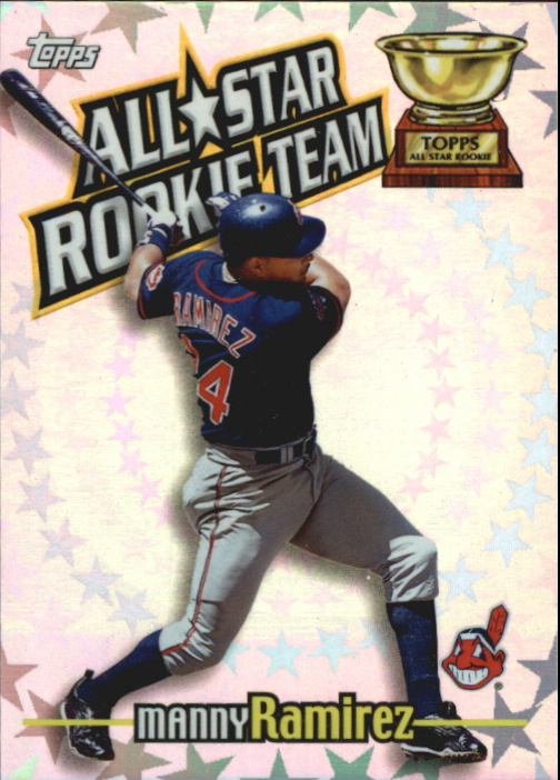 2000 Topps All-Star Rookie Team #RT5 Manny Ramirez