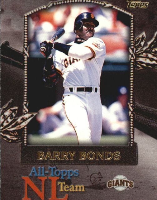 2000 Topps All-Topps #AT7 Barry Bonds