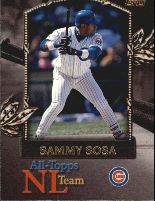 2000 Topps All-Topps #AT9 Sammy Sosa