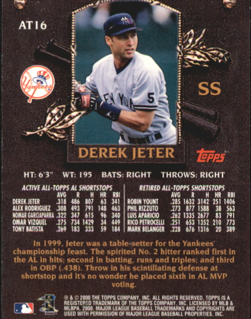 1999-2001 Derek Jeter Singles Finish Your Collection!