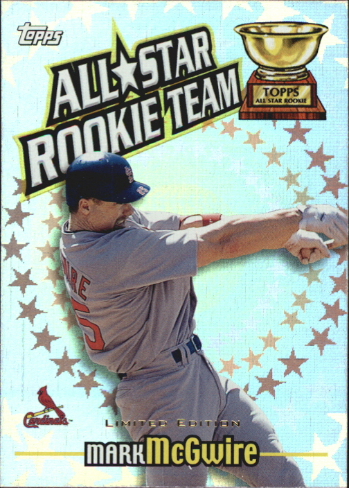2000 Topps Limited All-Star Rookie Team #RT1 Mark McGwire