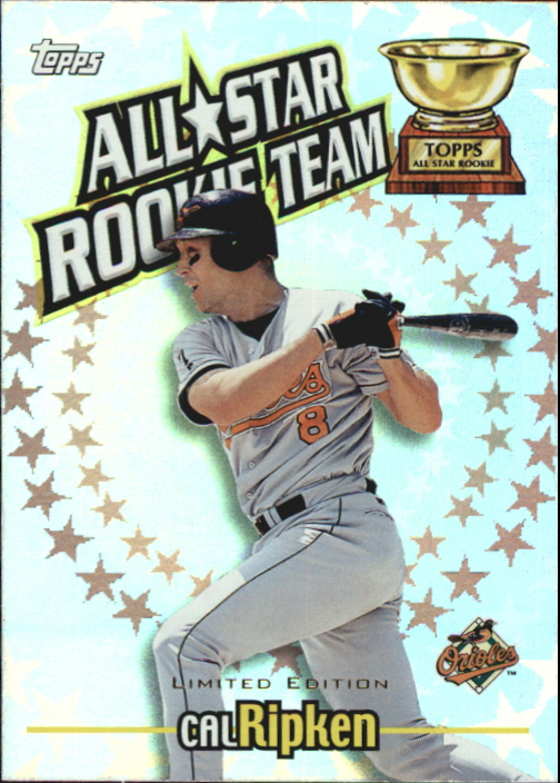 2000 Topps Limited All-Star Rookie Team #RT4 Cal Ripken front image