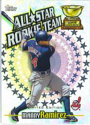 2000 Topps Limited All-Star Rookie Team #RT5 Manny Ramirez