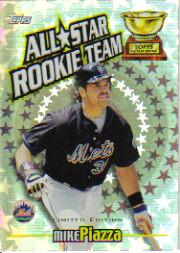 2000 Topps Limited All-Star Rookie Team #RT8 Mike Piazza