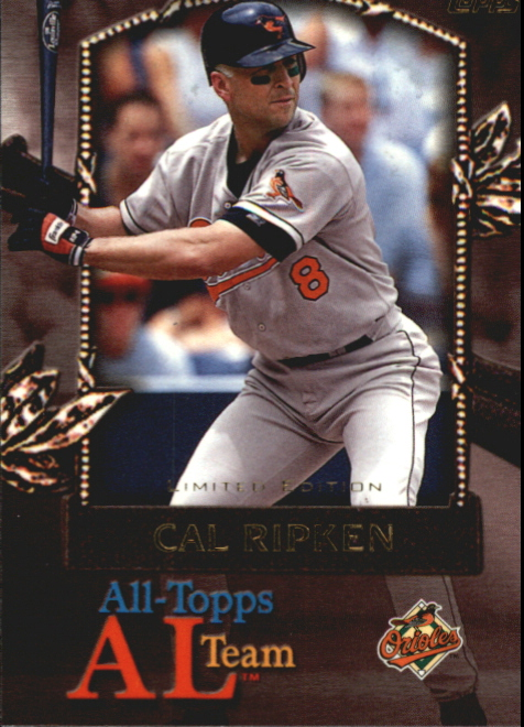 2000 Topps Limited All-Topps #AT15 Cal Ripken