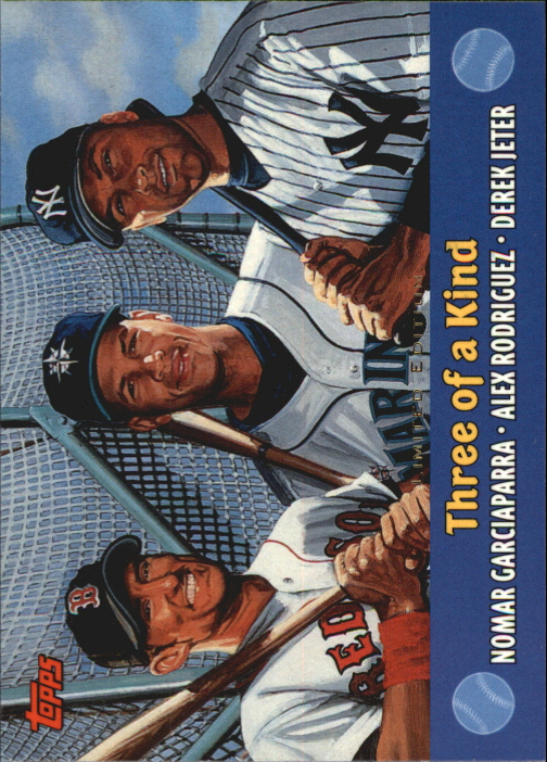 2000 Topps Limited Combos #TC5 Three of a Kind