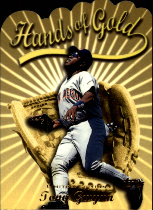 2000 Topps Limited Hands of Gold #HG5 Tony Gwynn