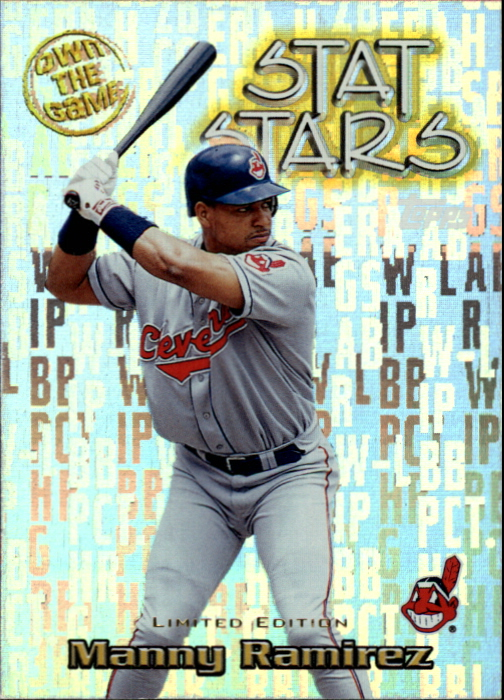2000 Topps Limited Own the Game #OTG4 Manny Ramirez