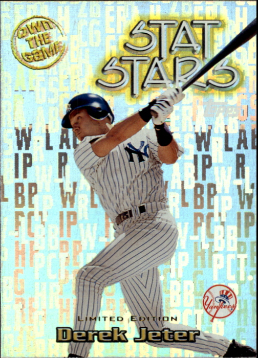 2000 Topps Limited Own the Game #OTG12 Derek Jeter