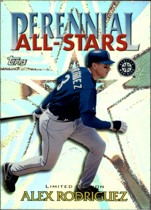 2000 Topps Limited Perennial All-Stars #PA9 Alex Rodriguez