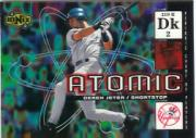 2000 UD Ionix Atomic #A6 Derek Jeter