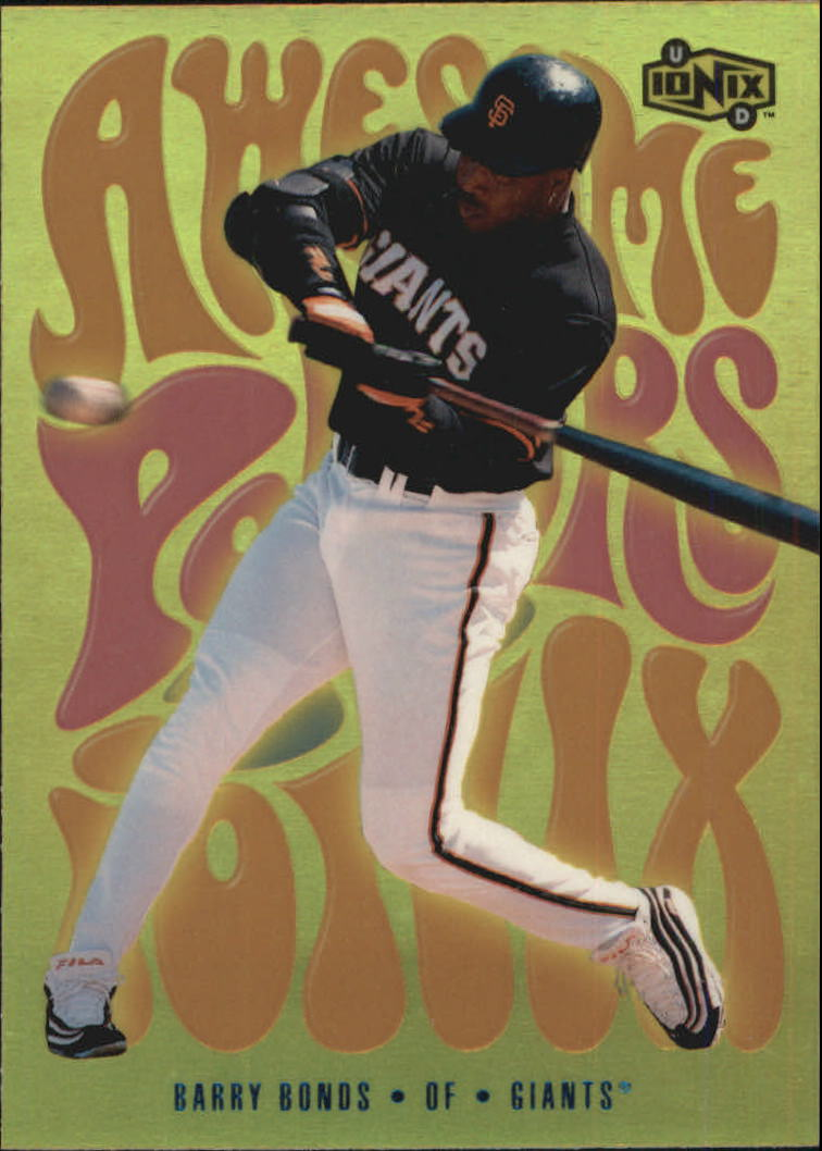2000 UD Ionix Awesome Powers #AP11 Barry Bonds