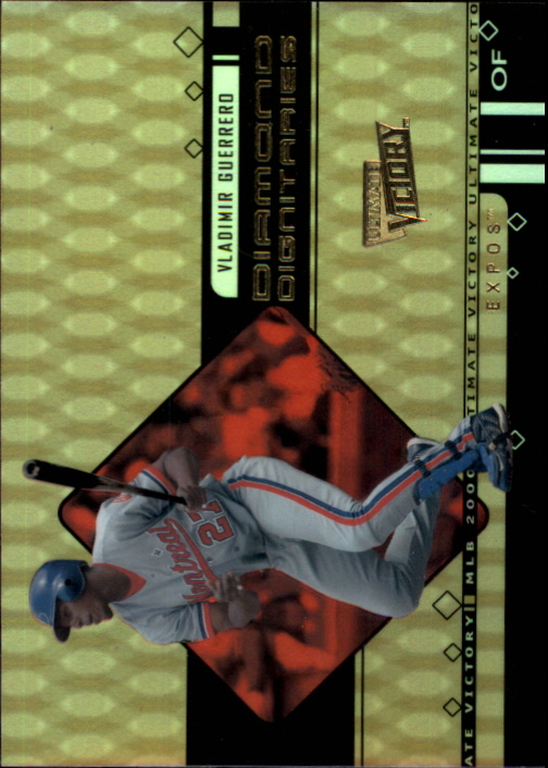 2000 Ultimate Victory Diamond Dignitaries #D7 Vladimir Guerrero