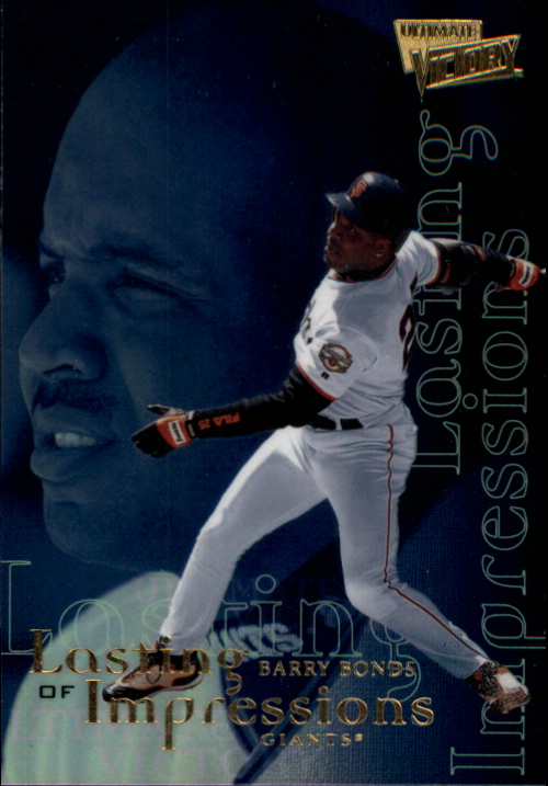 2000 Ultimate Victory Lasting Impressions #L1 Barry Bonds