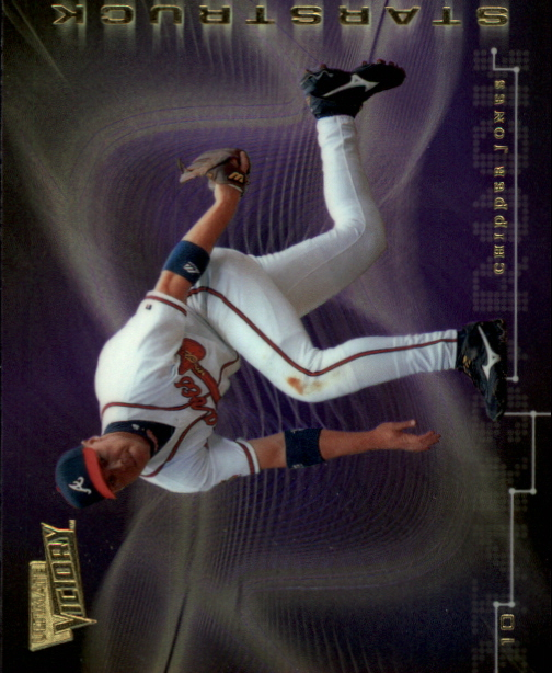 2000 Ultimate Victory Starstruck #S6 Chipper Jones