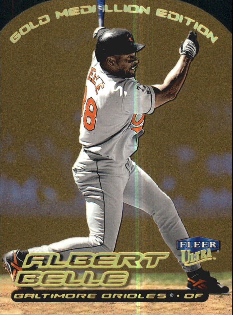 2000 Ultra Gold Medallion #84 Albert Belle