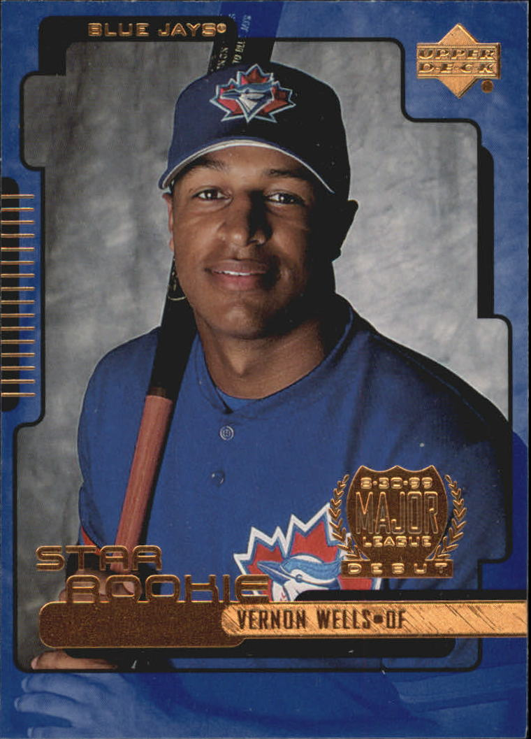 2000 Upper Deck #2 Vernon Wells SR