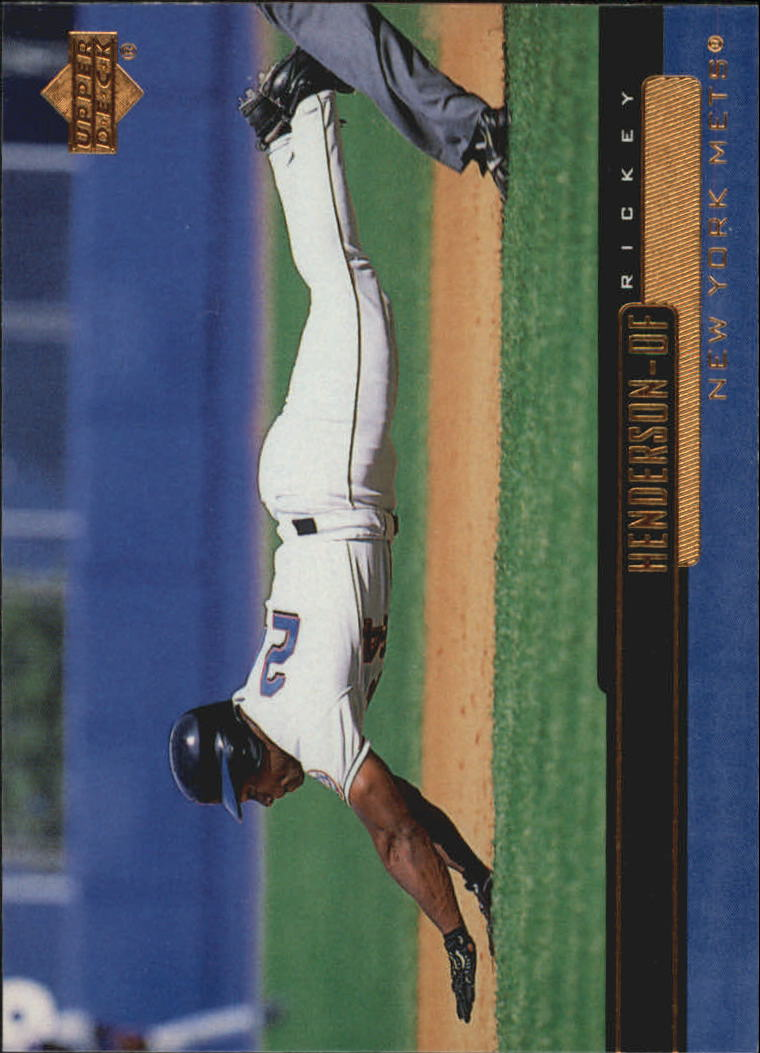 2000 Upper Deck #173 Rickey Henderson