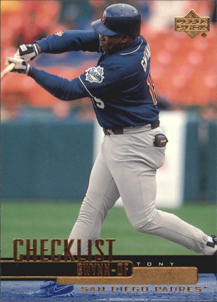 2000 Upper Deck #264 Tony Gwynn SH CL
