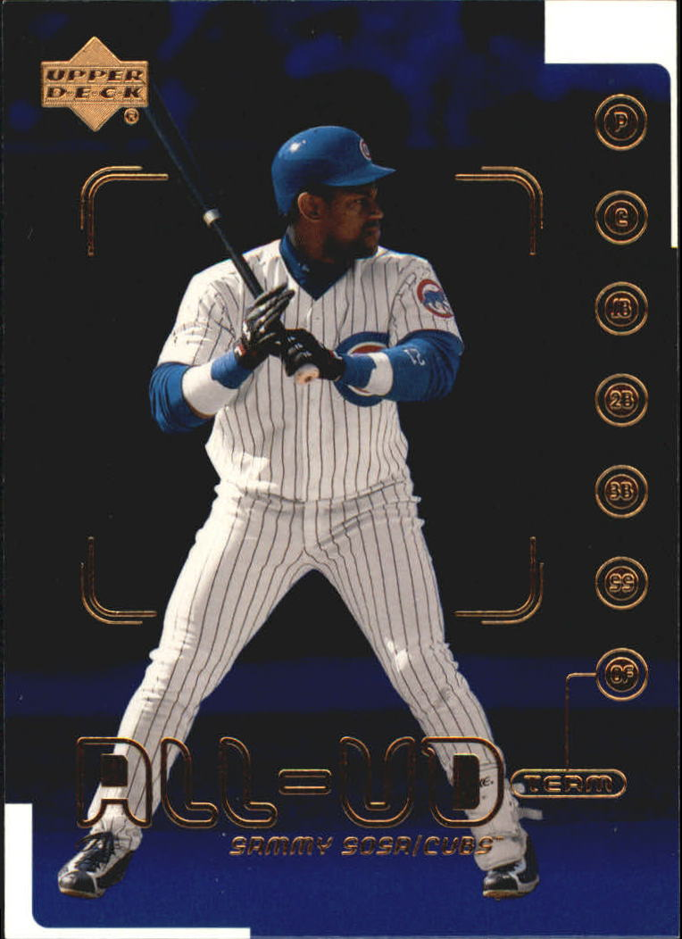 2000 Upper Deck #528 Sammy Sosa AUT