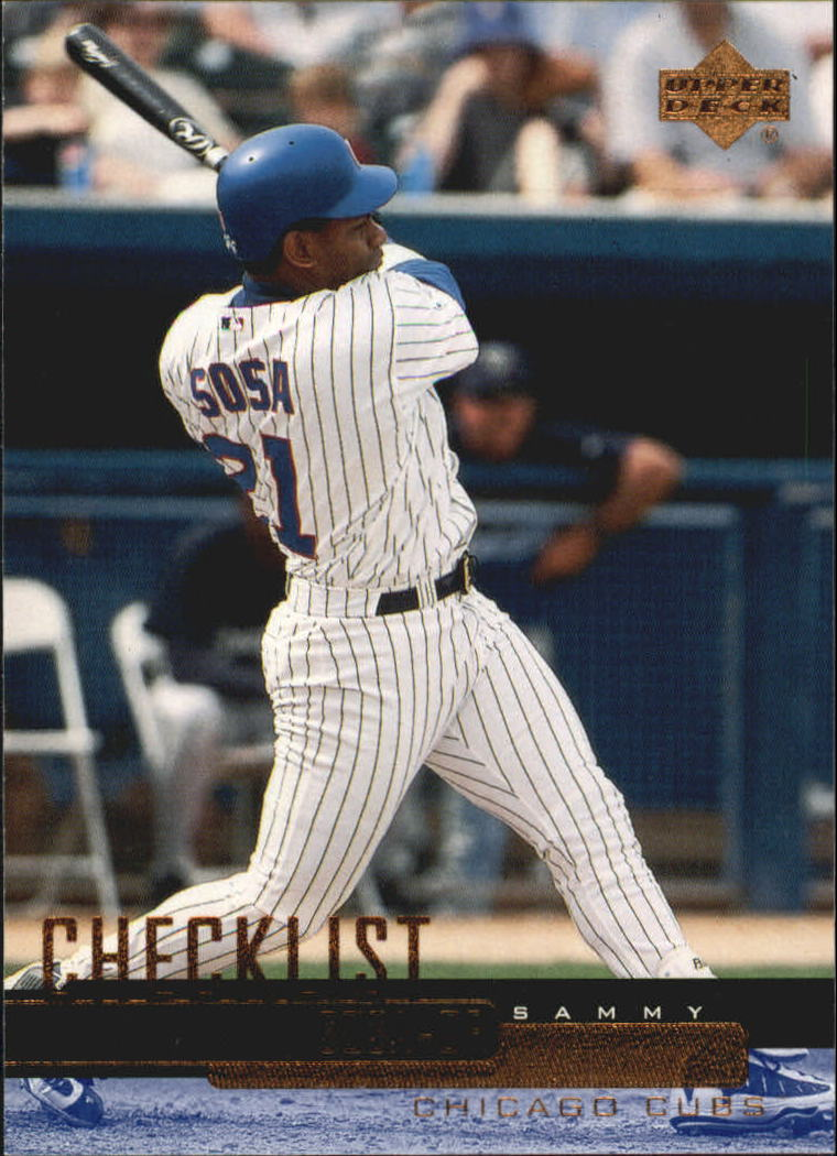 2000 Upper Deck #533 Sammy Sosa CL