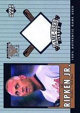 2000 Upper Deck A Piece of History 3000 Club #CRJ C.Ripken Jersey/350