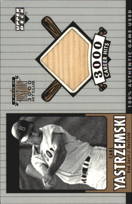 2000 Upper Deck A Piece of History 3000 Club #CYB C.Yaz Bat/350