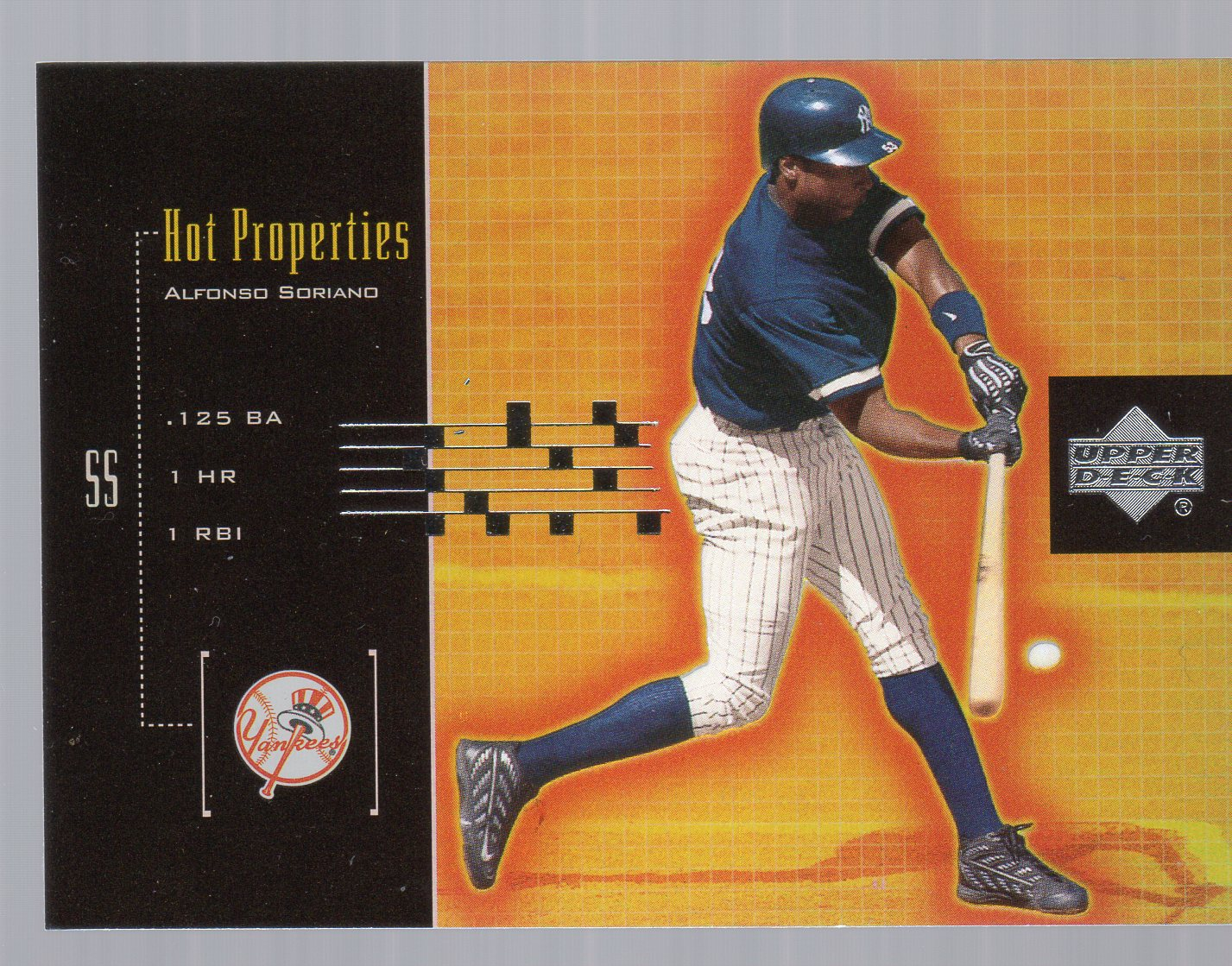 2000 Upper Deck Hot Properties #HP9 Alfonso Soriano