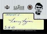 2000 Upper Deck Legendary Cuts #5 Nap Lajoie