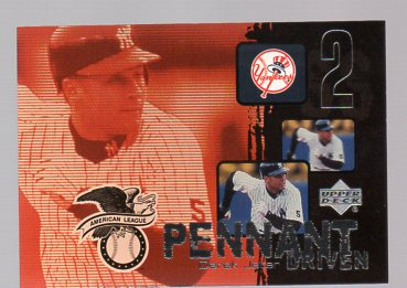 2000 Upper Deck Pennant Driven #PD1 Derek Jeter