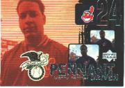 2000 Upper Deck Pennant Driven #PD7 Manny Ramirez
