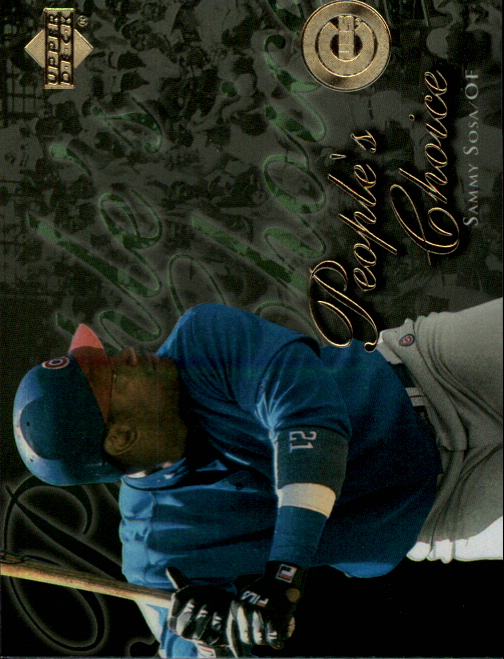 2000 Upper Deck People's Choice #PC11 Sammy Sosa