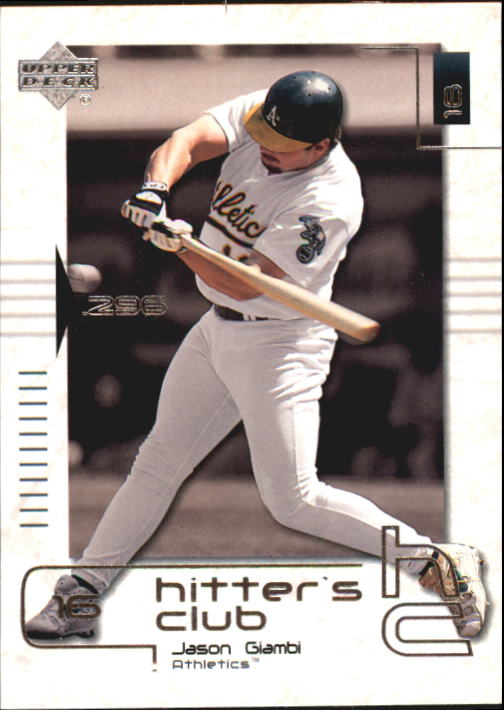 2000 Upper Deck Hitter's Club #5 Jason Giambi