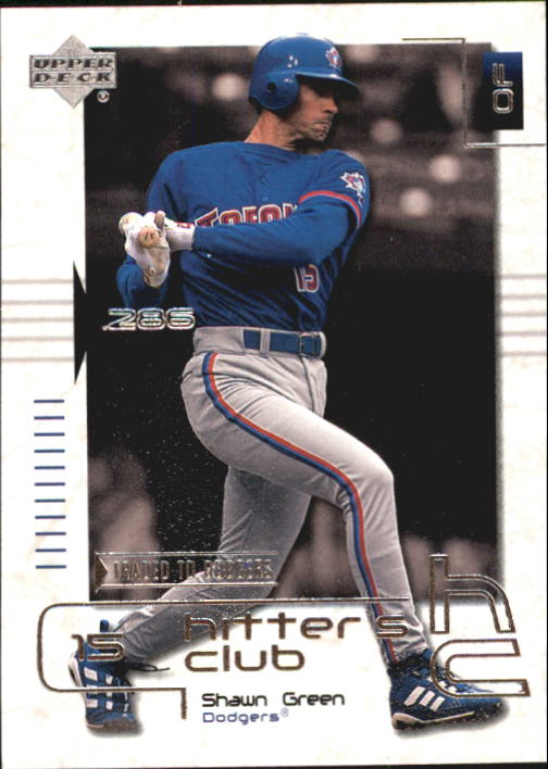2000 Upper Deck Hitter's Club #19 Shawn Green