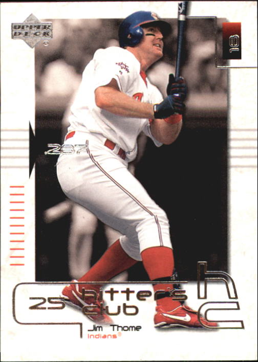 2000 Upper Deck Hitter's Club #24 Jim Thome