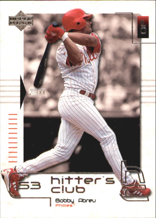 2000 Upper Deck Hitter's Club #35 Bob Abreu